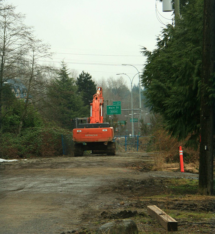 What the Seylynn development site currently looks like. Photo: Ley Doctor