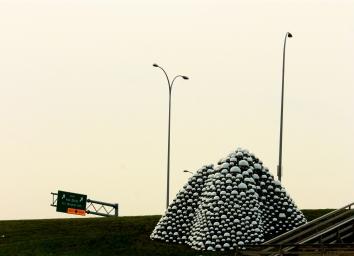 Edmonton: $600,000 of art in the oddest spot.