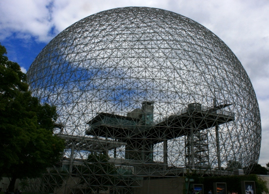 Montreal: Home to several atractions and an iconic skyline, the Biodome houses an environmental museum