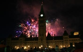 Ottawa: Extra special fireworks