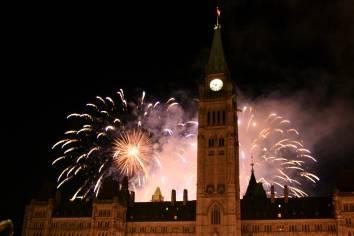 Ottawa: Summer fireworks